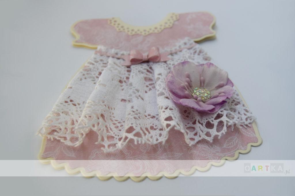 Kartka-sukienka